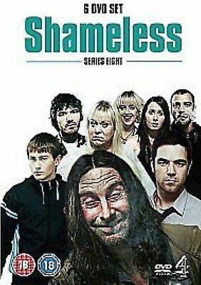 SHAMELESS - Series 8 Complete 8th Eighth Season Brand New Sealed UK Region 2 DVD