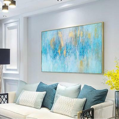 HH330 Large Modern Abstract oil painting 100% Hand-painted on canvas No Frame