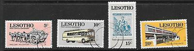 Lesotho Sg219/22 1972 Postboffice Centenary Fine Used