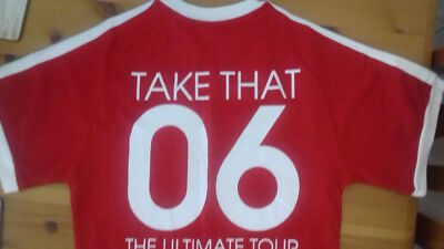 Take That T-Shirt Red Size Small