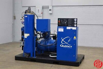 2016 Quincy QSI-500i 100HP Water Cooled Oil Free Rotary Screw Air Compressor