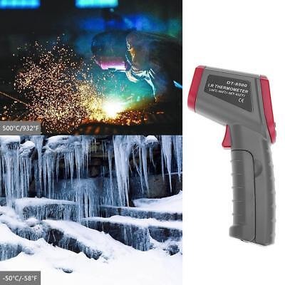 LCD Digital Hand-Held Infrared Thermometer Non-contact Temperature Meter Tool DF