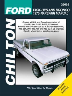 Ford Pick-Ups & Bronco (76-86)  Book New