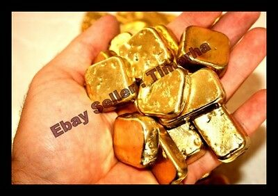 120 Grams Melted Drops Scrap Gold Plated Pins For Recovery Not Solid Gold