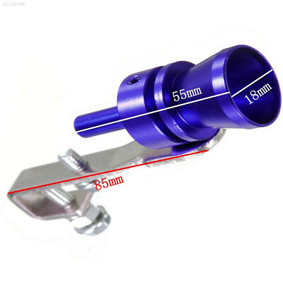 Pipe Whistle Aluminum Alloy XL Blue Simulator Durable Sound Whistle