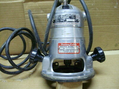 Porter Cable Guild Electric Router 1100, Porter Cable Base 1101, Works Good