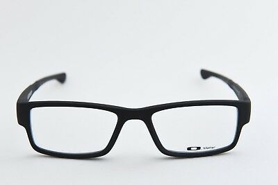 Oakley Airdrop Ox8046-0155 Full Rim Plastic Eyeglasses Frames Satin Black New