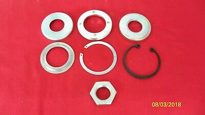 Triumph T120 T150 Tr5T Conical Front Axle Grease Caps Circlips Rebuild Kit Uk