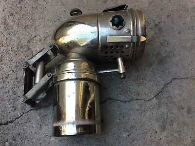 Ancienne Lampe De Velo Luxor A Carbure, Carbide Lantern For Bicycle Lamp