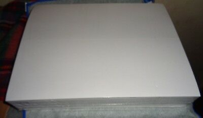"""Printable Blank Sticker Paper - 8.5""""x11"""" - shipping labels  20/50/100"""