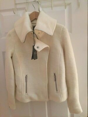 A/x Armani Exchange Womens Wool Jacket Lined Size S/p