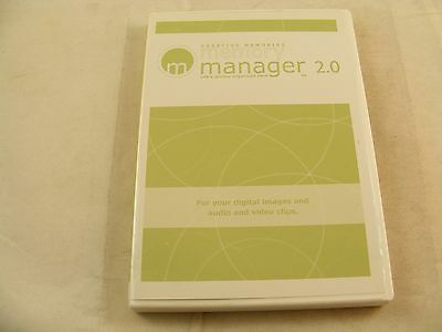 CREATIVE MEMORIES memory manager 2.0 software CD - Excellent Condition !
