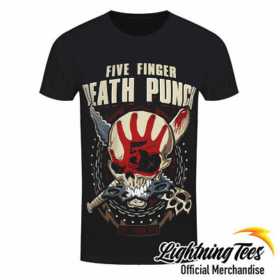 Official Five Finger Death Punch FFDP Zombie Kill Band T-Shirt