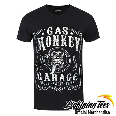Official Gas Monkey Garage GMG Flourish Fast N Loud T-Shirt