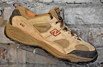 222c27618d5d6 New Balance 642 ABZORB Shoes Mens Size 11.5 4E Tan Brown Outdoor Hiking  Trail