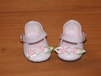 Shoes To Fit The American Galoob Baby Face Girl White Rosebud