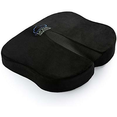 Seat Back & Cushions Cushion For Pain, Tailbone, Coccyx Sciatica Relief - Memory