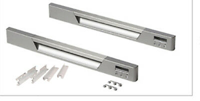 GENUINE NEW FISHER & PAYKEL DOUBLE or SINGLE DISHDRAWER HANDLE KIT x 2  512484P