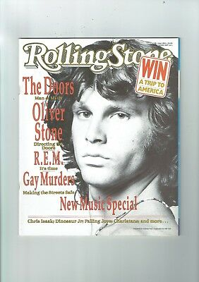 Rolling Stone #458 The Doors  1991   M24