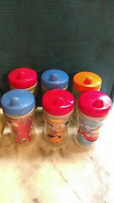 Playtex Sipsters Insulated Lot of 6 Used