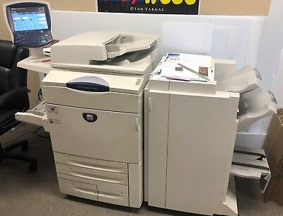 Xerox Docucolor 250 Color Copier with booklet maker