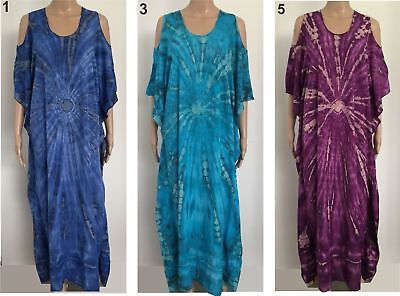 LADIES casual Long Dress Size 14 16 18 22 24 26 28 Sleeve  Larger Plus B2