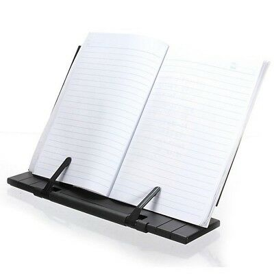 Portable  Steel Book Reading Desk Stand Adjustable  Book Document Holder