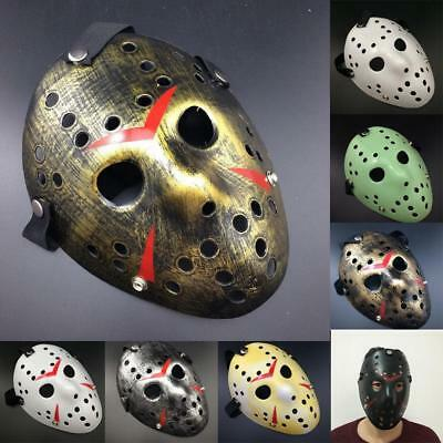 Jason Voorhees Friday the 13th Costume Horror Creepy Cosplay Mask Halloween Mask