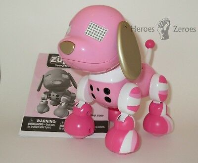 Zoomer Zuppies Puppy Candy Pink White With Instructions Box