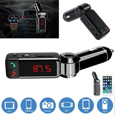 Bluetooth Car USB Charger FM Transmitter MP3 Player Handsfree For iPhone IPod