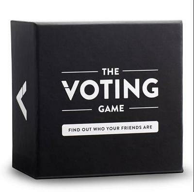 The Voting Game An Adult Party Game About Friendship Card Game