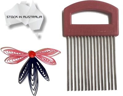 High Quality metallic quilling comb tool