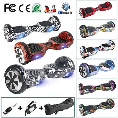 "6.5"" Hoverboard Self Balance électrique Scooter Bluetooth Graffiti  Gyropode -FR"