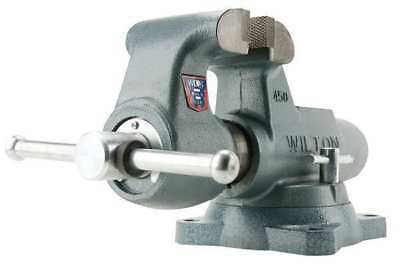 """8"""" Standard Duty Machinist's Bench Vise with Swivel Base WILTON 800S"""