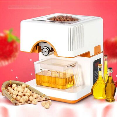 220V Household Automatic Oil Press Machine Hot and Cold Oil Press Extractor 300W