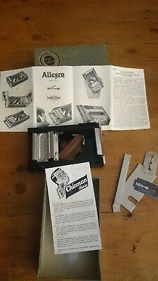 Allegro Mod.L Automatic Honing & Stropping Apparatus for Razor Blades