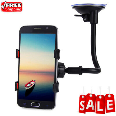 360° Rotation Car Windshield Holder Mount Bracket Stand for Cellphone iPhone GPS
