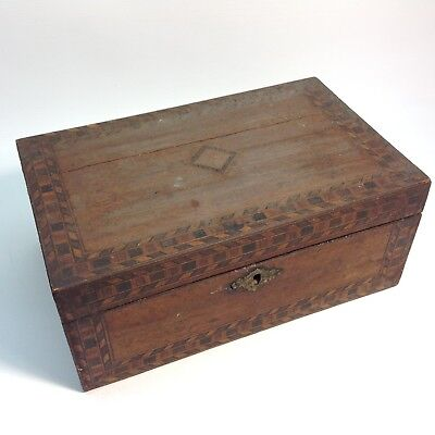 Antique Inlaid Box