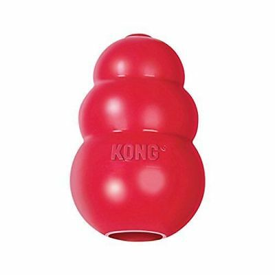 KONG Classic Red Dog Toy Teething Chew Dogs Puppies Gift SAMEDAY DISPATCH