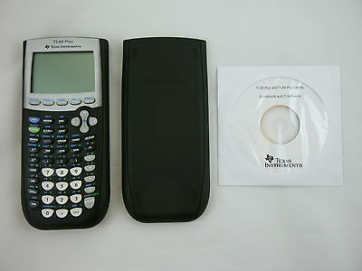 TI-84 Plus Graphing Calculator Texas Instruments TI84 + Graphic Fast Ship