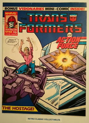 Marvel UK - The Transformers & Action Force - Comic - No.158 - 26th March 1988