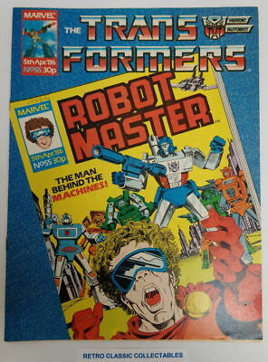 Marvel UK - The Transformers - Comic - No. 55 - 5th April. 1986