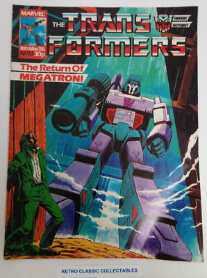 Marvel UK - The Transformers - Comic - No. 51 - 8th March. 1986
