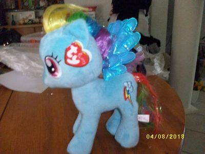 My Little Pony Schmusetier Raindow Dash, 24 cm TY 90205