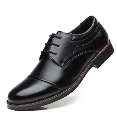 New Men's Black Business Casual Wedding Leather Shoes Formal Dress Loafers DY807