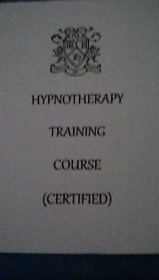 Hypnosis Course (Certified) cd-rom