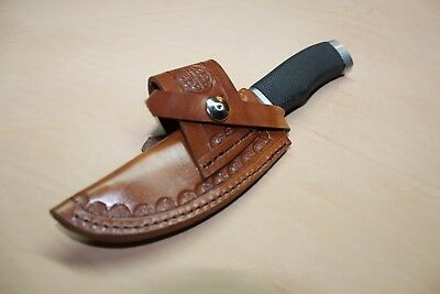 Duel Cross Draw Custom Leather Sheath for a Medium Size Left or Right Hand Draw