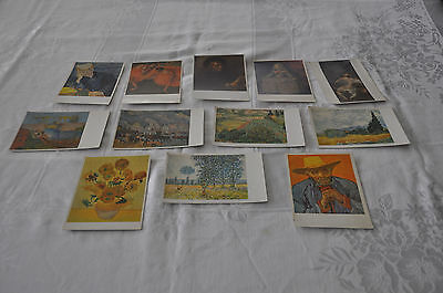 Lot of Twelve (12) Vintage Postcards of Works of Art from German Museums