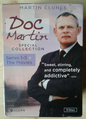 Doc Martin Special Collection: Series 1-5 + 2 Movies (DVD, 2013, 13-Disc Set)