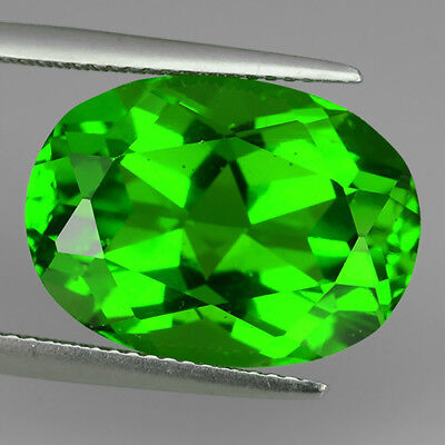 13.22 Ct Amazing Fine Aaa Chrome Green Natural Moldavite Oval Cut Loose Gemstone